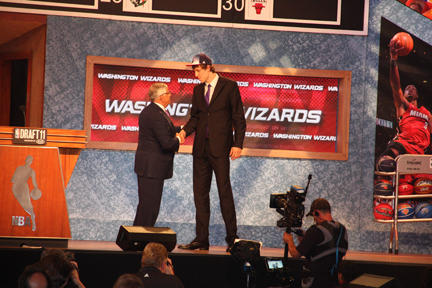 Jan Vesely was Selected with the Sixth Pick Overall