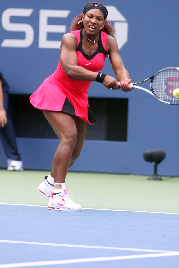Despite missing most of the season, Serena Williams continues to cruise along.
