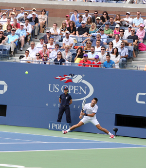 Novak Djokovic Battles His Way to the US Open Final