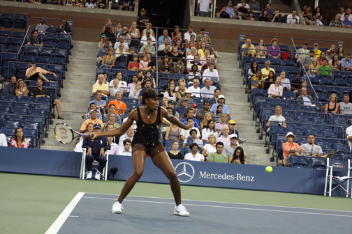 Two time US Open Champion Venus Williams had to withdraw from this year's tournament due to complications from Sjogren's Syndrome