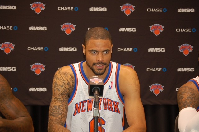 Tyson Chandler Anchors the New York Knicks Defense