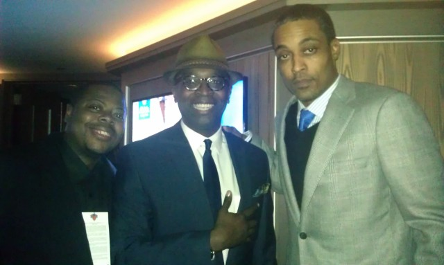 "Derrel ""Jazz"" Johnson, Michael Dean & Rod Strickland"