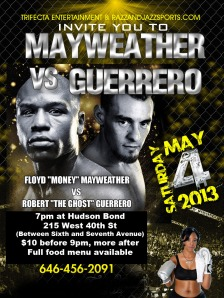 Mayweather vs Guerrero Fight Party