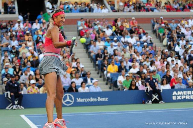 Victoria Azarenka Battled Serena Williams for Three Sets